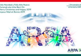 ¡ARPA les desea una feliz navidad y un próspero año 2019!