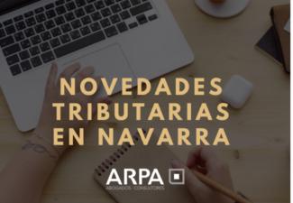 Novedades tributarias en Navarra