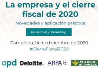 La empresa y el cierre fiscal de 2020: novedades y aplicación práctica.